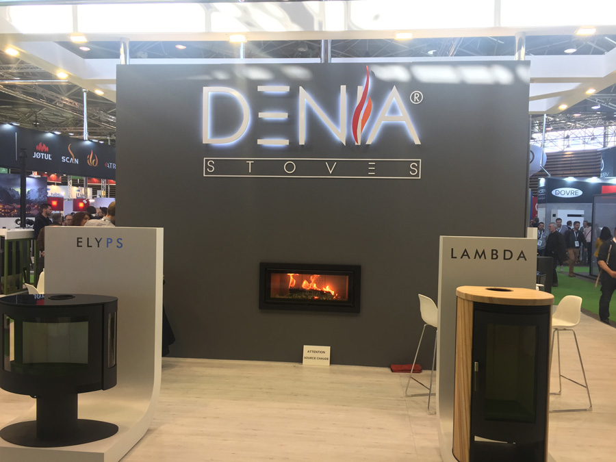 DENIA STOVES OP FLAMM'EXPO LYON 2019